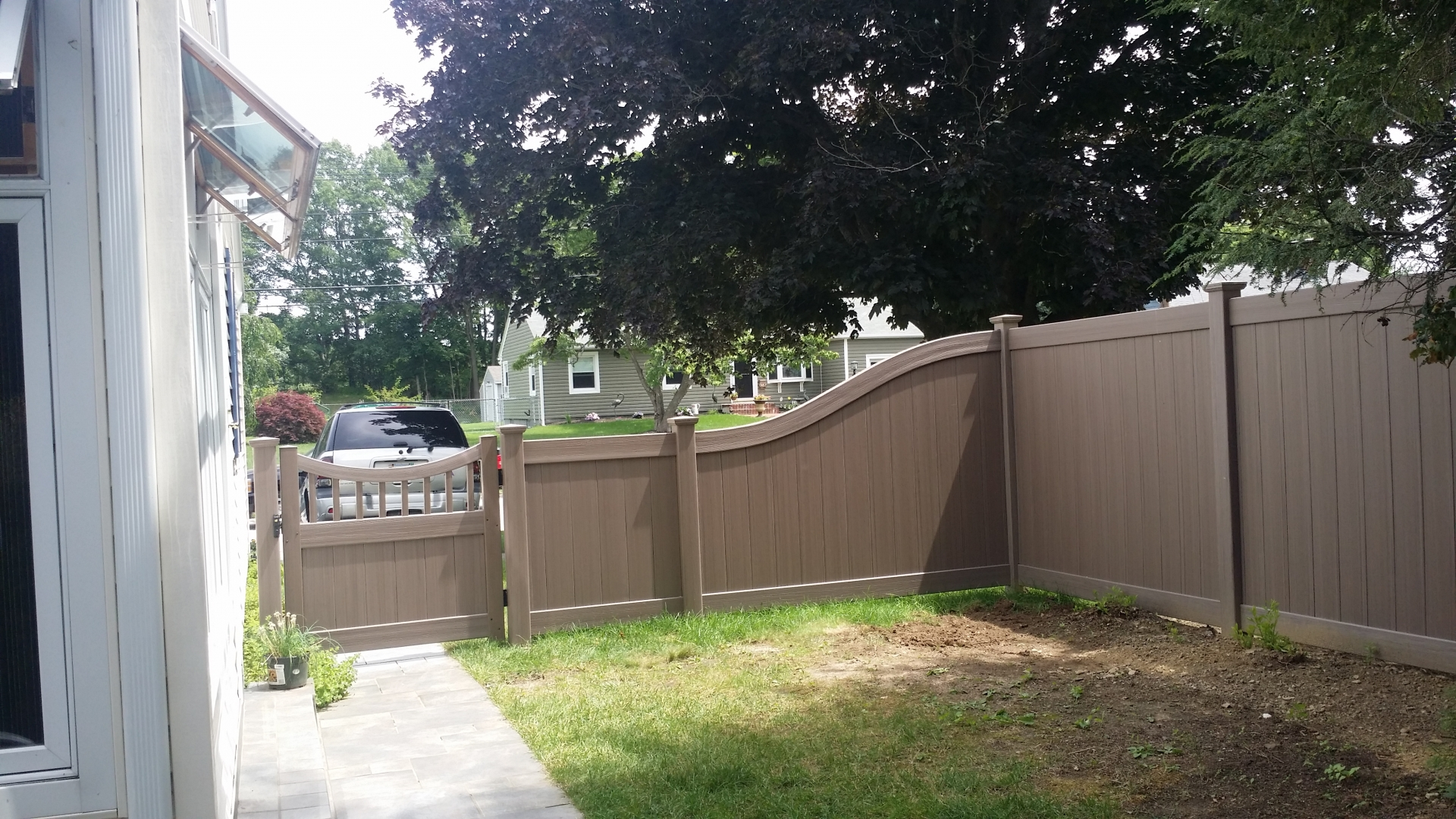 Fence Installation by Miller Fence pany