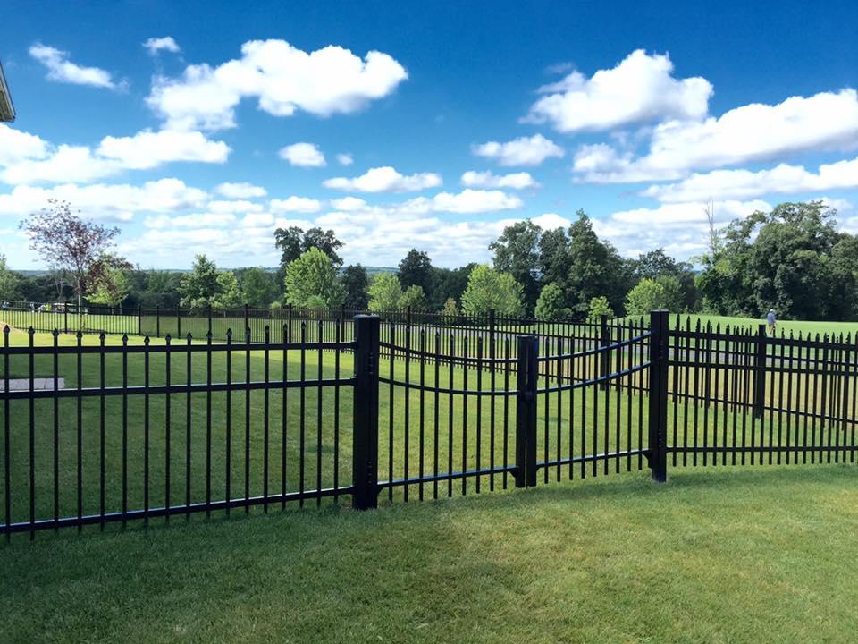 Aluminum Fence Installation Grafton MA - Miller Fence